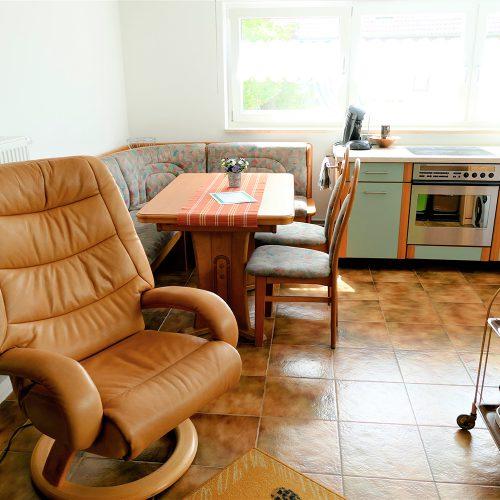 Fernsehsessel, Eckbank, Küche